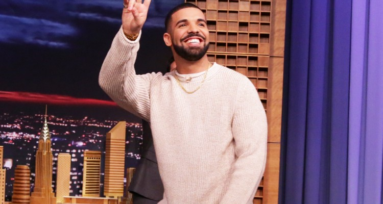 THE TONIGHT SHOW STARRING JIMMY FALLON -- Episode 0470 -- Pictured: Rapper Drake arrives on May 12, 2016 -- (Photo by: Andrew Lipovsky/NBC/NBCU Photo Bank via Getty Images)