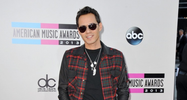 Marc Anthony arrives at the American Music Awards at the Nokia Theatre L.A. Live on Sunday, Nov. 24, 2013, in Los Angeles. (Photo by Jordan Strauss/Invision/AP)