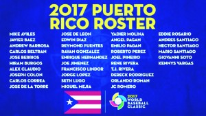 Puerto Rico Roster