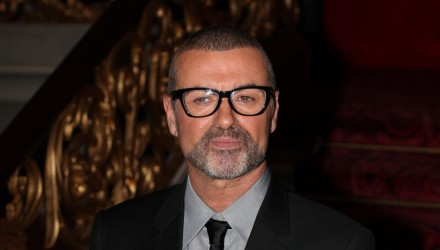LONDON, UNITED KINGDOM - MAY 11: George Michael attends a press conference to announce details of a new tour at The Royal Opera House on May 11, 2011 in London, England. (Photo by Neil Mockford/Getty Images)