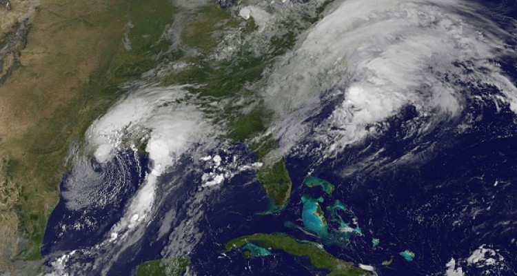 """This NOAA-NASA GOES Project satellite handout image taken on August 29, 2017 at 1230 UTC shows storm activity from Hurricane Harvey off the US Gulf coast. Rescue teams in boats, trucks and helicopters scrambled to reach hundreds of Texans marooned on flooded streets in and around the city of Houston before monster storm Harvey returns. US President Donald Trump is traveling to Texas on August 29, 2017, aiming to show unity in the face of what he called the """"terrible tragedy"""" wrought by monster storm Harvey's devastating rains. But the US president and his wife Melania are not expected to visit Houston, America's fourth largest city where rescuers are scrambling to reach hundreds of stranded people as Harvey appeared poised to strike again.  / AFP PHOTO / NOAA-NASA GOES Project / Handout / RESTRICTED TO EDITORIAL USE - MANDATORY CREDIT """"AFP PHOTO / NOAA-NASA GOES PROJECT/HANDOUT"""" - NO MARKETING NO ADVERTISING CAMPAIGNS - DISTRIBUTED AS A SERVICE TO CLIENTS"""