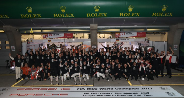 Porsche Team Winner Manufacturer 2017